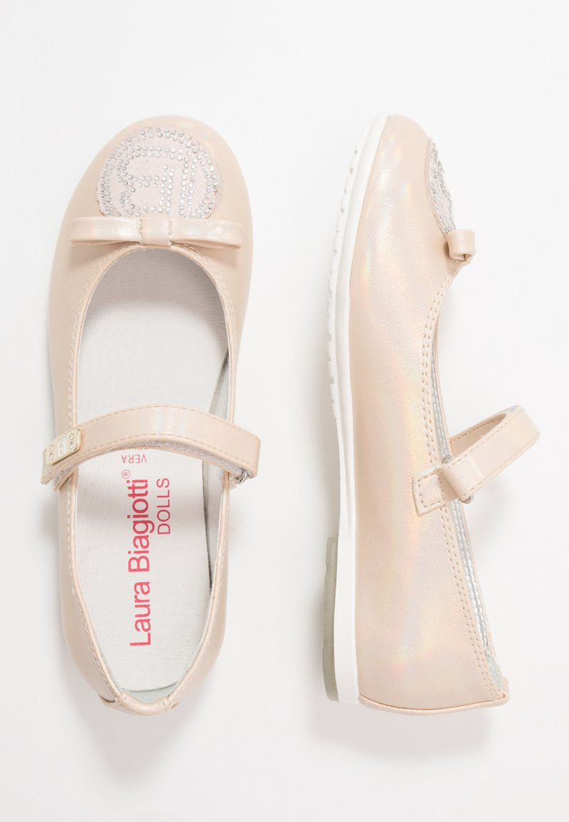 Laura Biagiotti - Ankle strap ballet pumps - pink