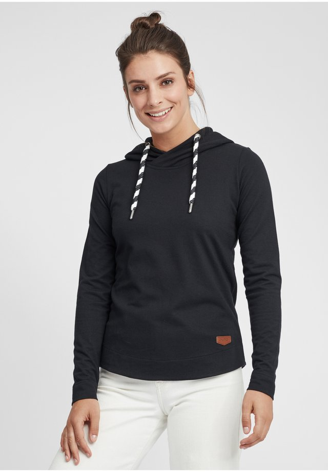 WANDY - Sweat à capuche - black