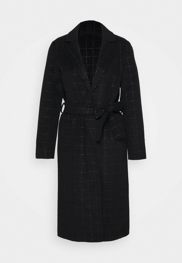 ANTHO - Classic coat - noir