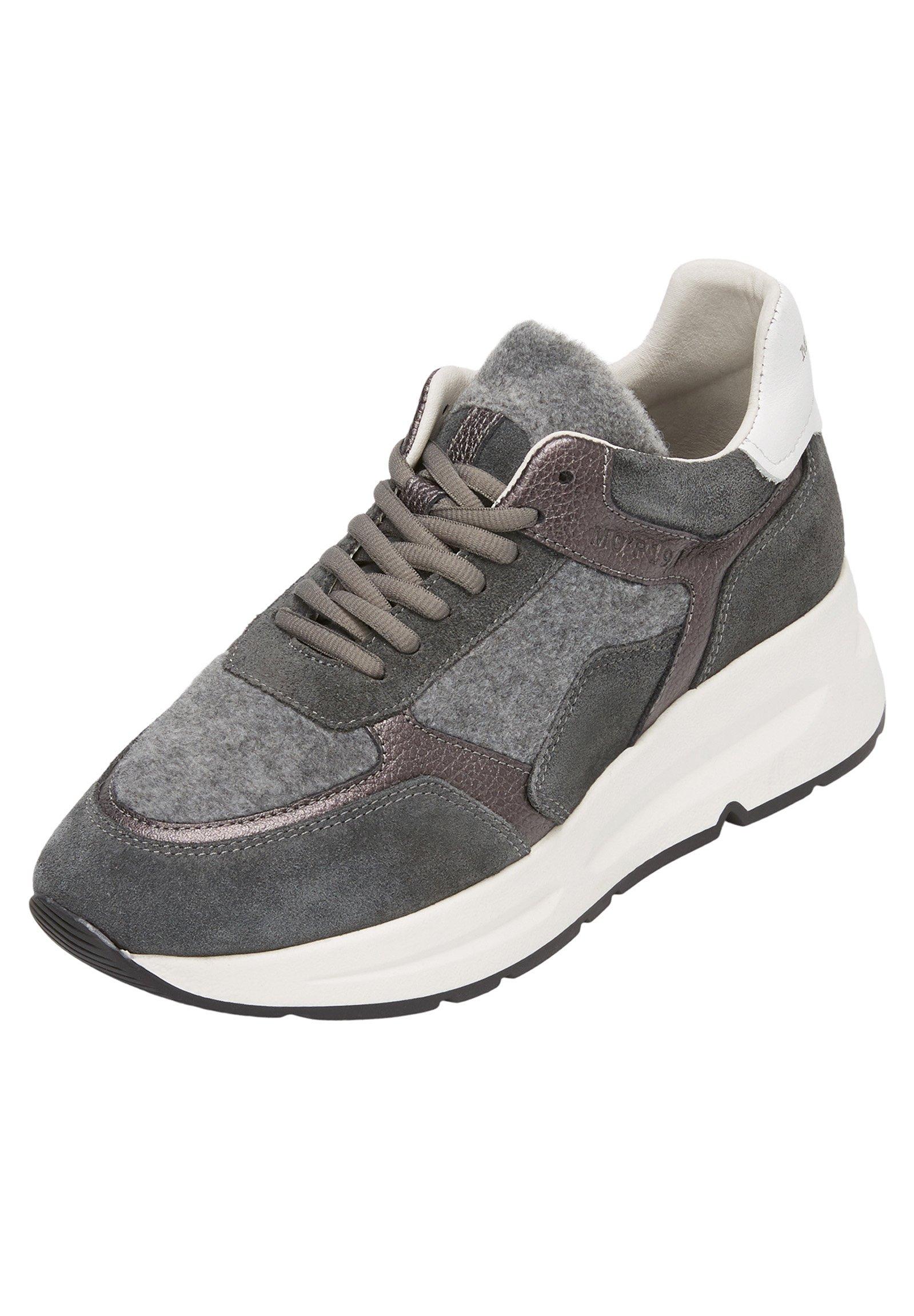 Marc O'Polo AUS HOCHWERTIGEM MATERIALMIX Sneaker low grey combi/grau