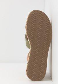 mtng - Sandály na vysokém podpatku - sandys natural/verde claro - 6