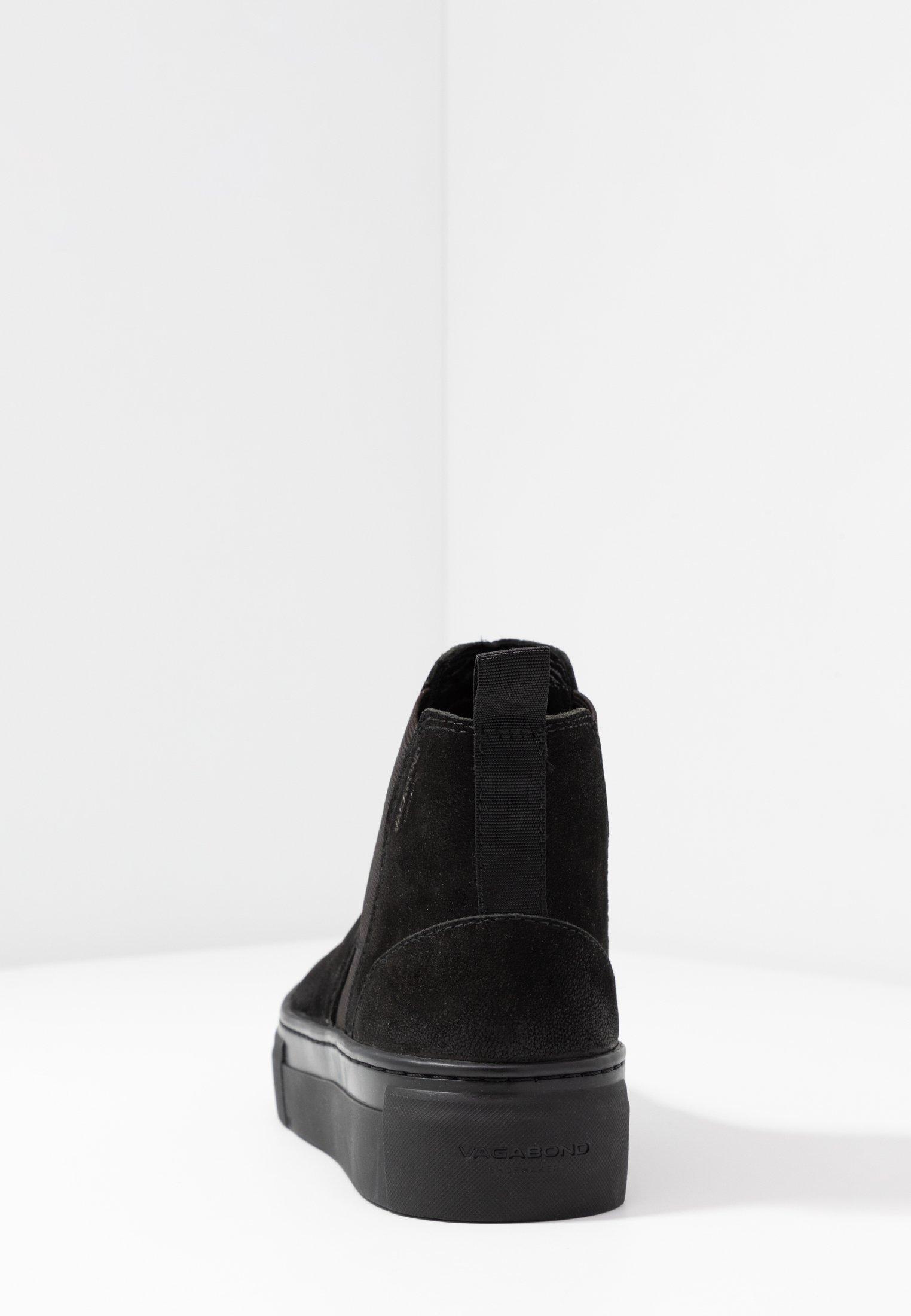 ZOE PLATFORM Ankelboots black