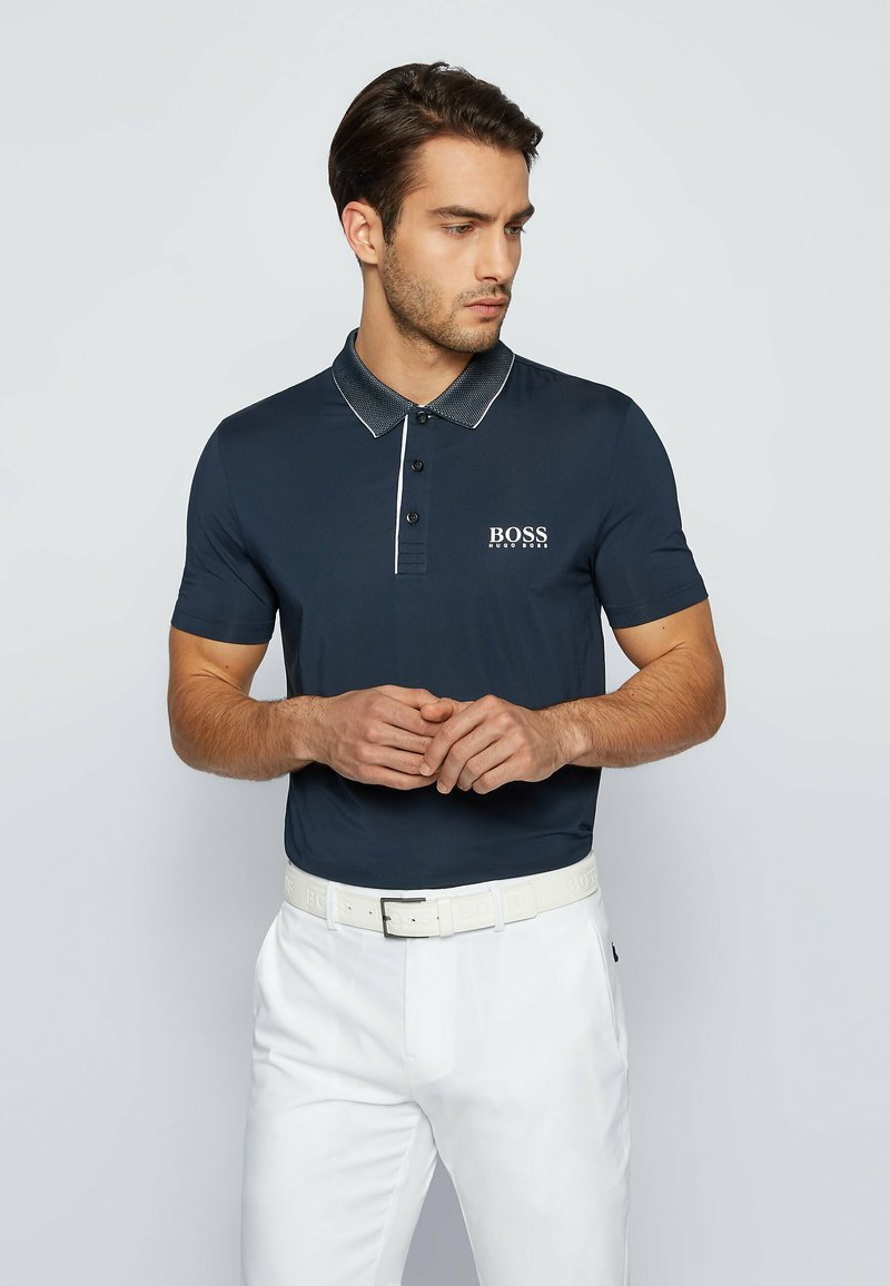 BOSS - Polo shirt - dark blue