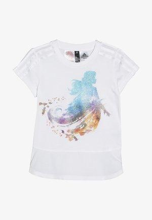 TEE - Camiseta estampada - white/boaqua