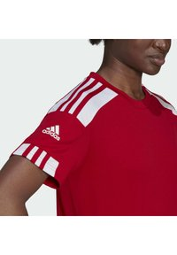 adidas Performance - SQUADRA 21 - T-shirts med print - team power red white - 4