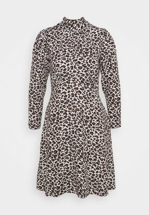CLOSET TIE BACK A LINE DRESS - Day dress - brown