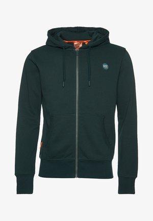 COLLECTIVE - veste en sweat zippée - green