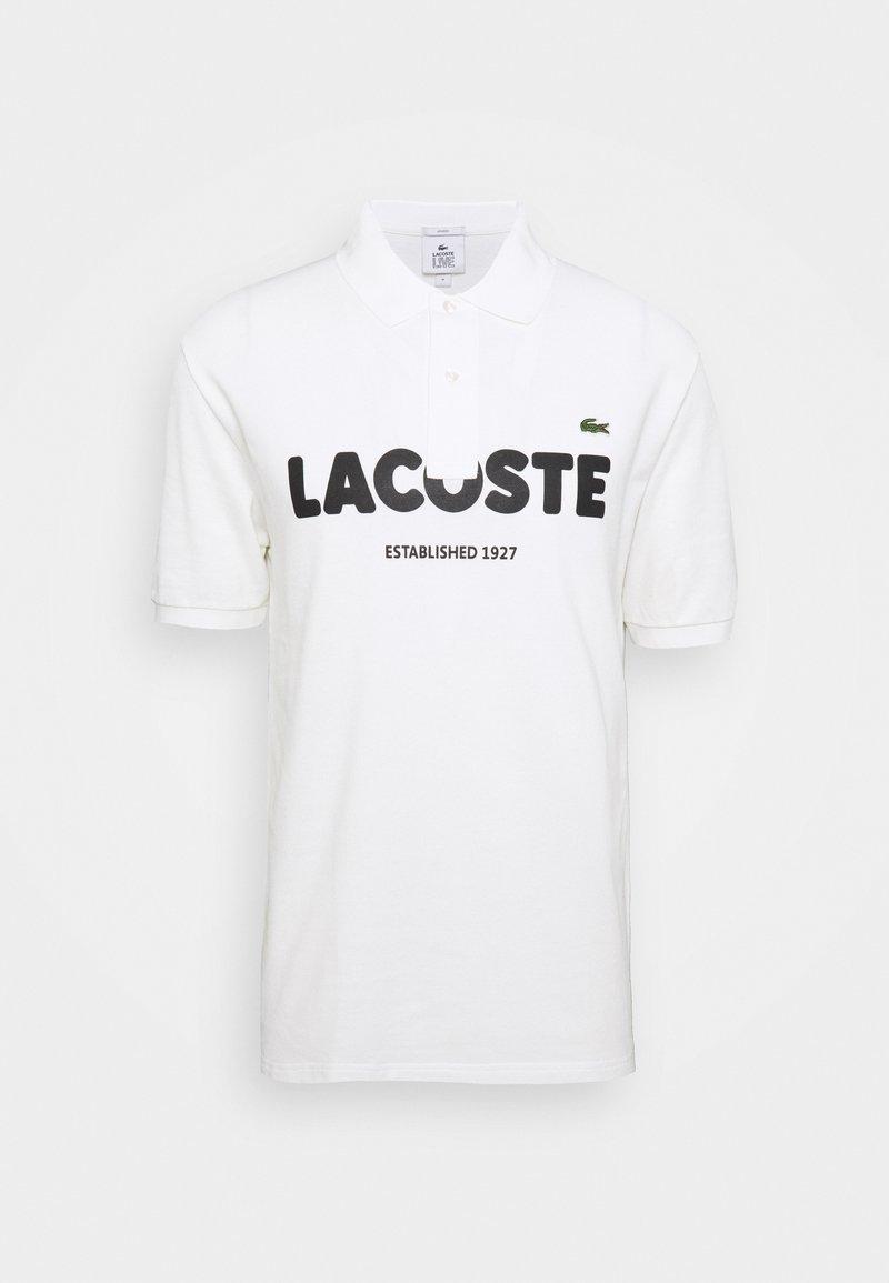 Lacoste LIVE - Polo shirt - flour/black