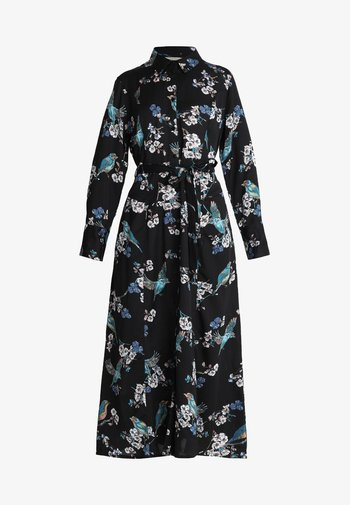 MARGOT DRESS - Sukienka koszulowa - jet black