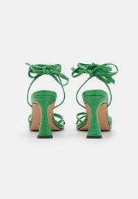 Topshop - RALLY MID ANKLE TIE - Sandalen - green - 3