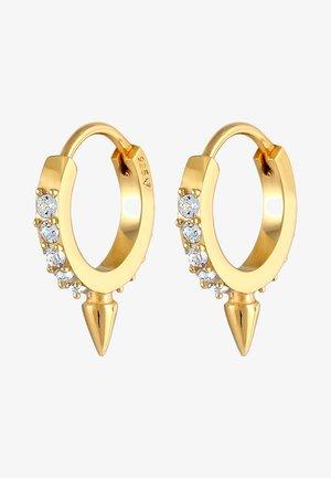 GLASS CRYSTAL - Oorbellen - gold