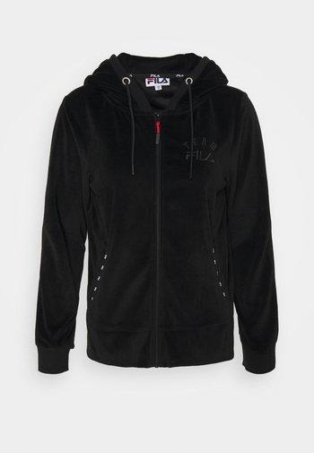 HOODYJACKET KIM - Felpa con zip - black