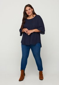 Zizzi - WITH 3/4 LENGTH SLEEVES - Blouse - blue - 1