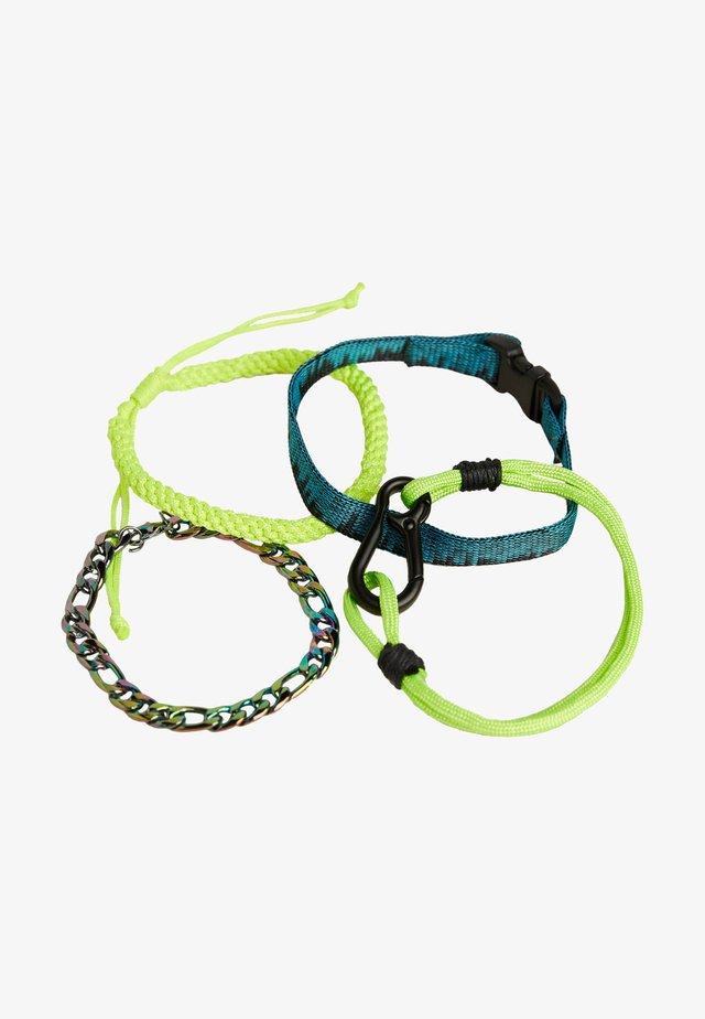 Bracelet - neon yellow