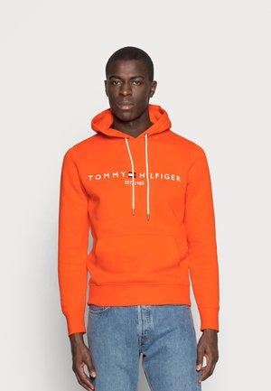 LOGO HOODY - Hoodie - orange