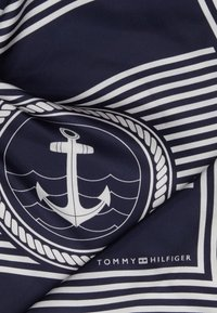 Tommy Hilfiger - ICONIC STRIPES BANDANA - Halsdoek - blue