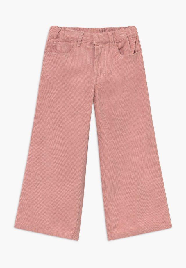 OMILA  WIDE - Pantalon classique - peachskin