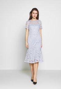 Lauren Ralph Lauren - KAMI DRESS - Vapaa-ajan mekko - toile blue - 1