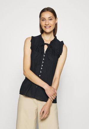 RUTH - Button-down blouse - desert sky