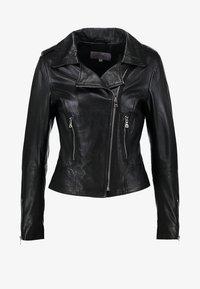 Ibana - BEAR BLAZE - Veste en cuir - black - 4