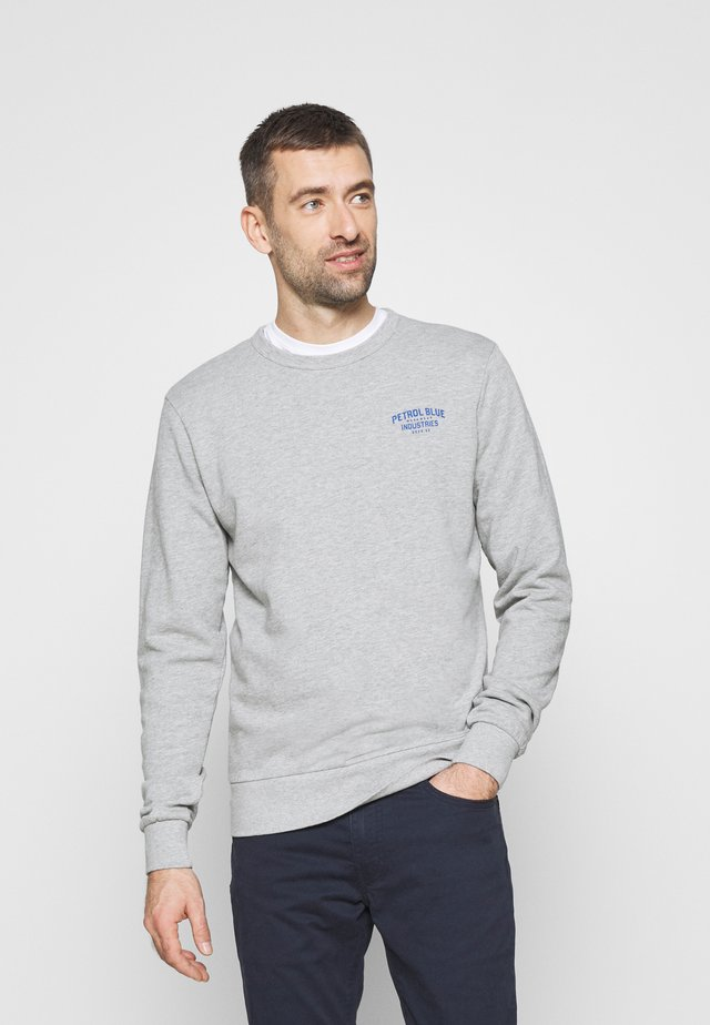 Sweater - light grey melee