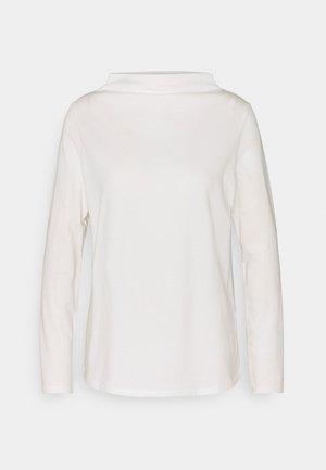 CORE TEE - Pitkähihainen paita - off white