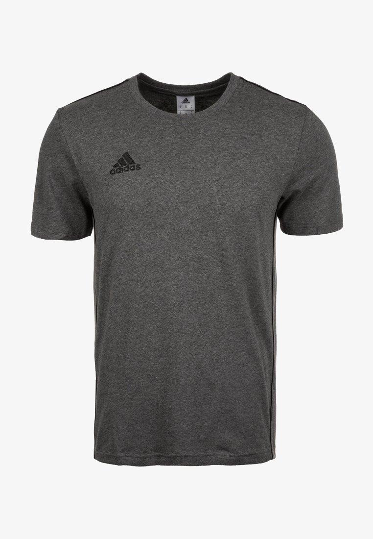 adidas Performance - CORE 18 - T-shirt imprimé - dark grey