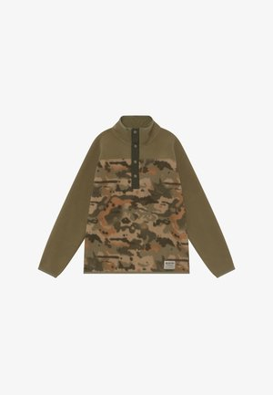 SPARK  - Fleece jumper - khaki