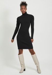 Vila - Jumper dress - black - 1