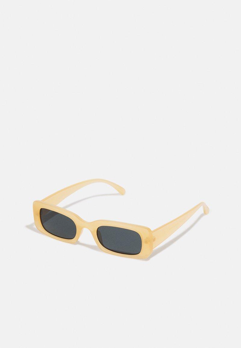 Vintage Supply - CHUNKY UNISEX - Sunglasses - beige