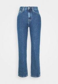 Calvin Klein Jeans - HIGH RISE STRAIGHT ANKLE - Straight leg jeans - ab076 icn light blue - 3