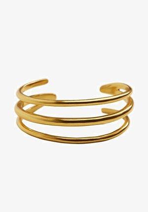 ARMCUFF IN MEHRREIHIGER OPTIK - Bracelet - gold