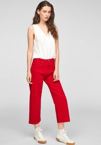 s.Oliver - Trousers - true red - 1