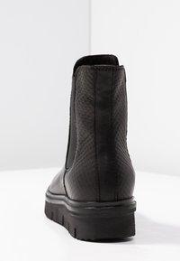 Bianco - CLEATED  - Platåstøvletter - black - 5