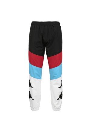 Pantaloni sportivi - black / red / turquoise / white
