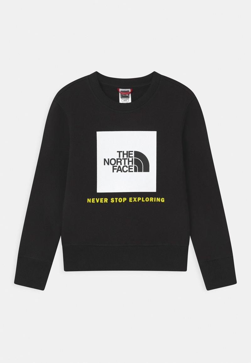 The North Face - BOX CREW UNISEX - Sweatshirt - black/white