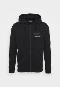 Peak Performance - GROUND ZIP HOOD - Zip-up hoodie - black - 4