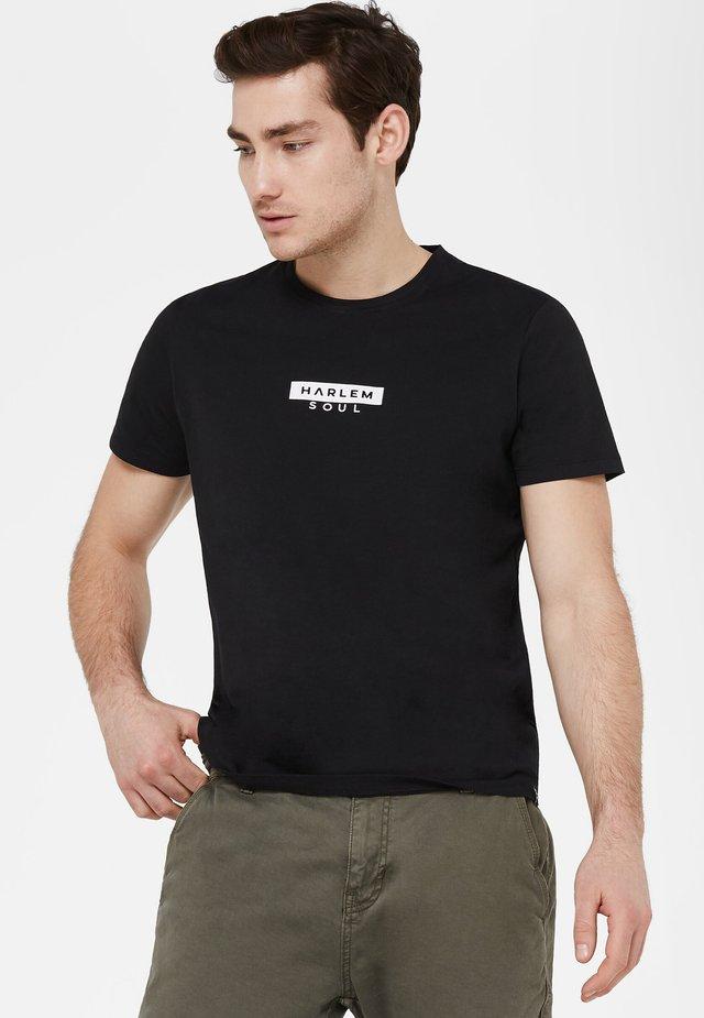 MIT MINI LOGO PRINT - Print T-shirt - black