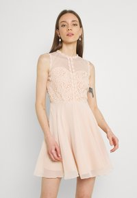 Lace & Beads - CARLIE SKATER - Cocktail dress / Party dress - nude - 0