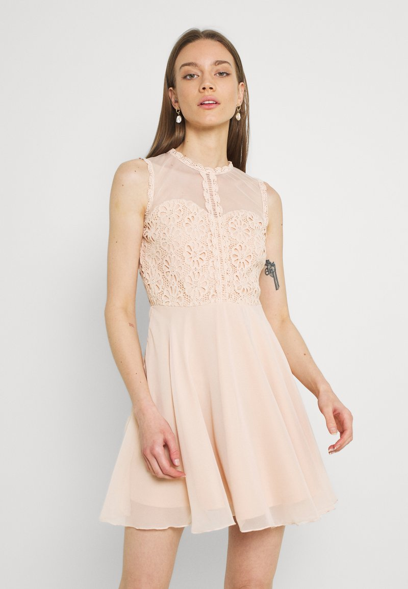 Lace & Beads - CARLIE SKATER - Cocktail dress / Party dress - nude