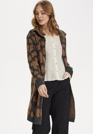 CATHSZ - Cardigan - leather brown