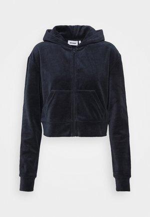 JUNO ZIP HOODIE - Zip-up hoodie - navy