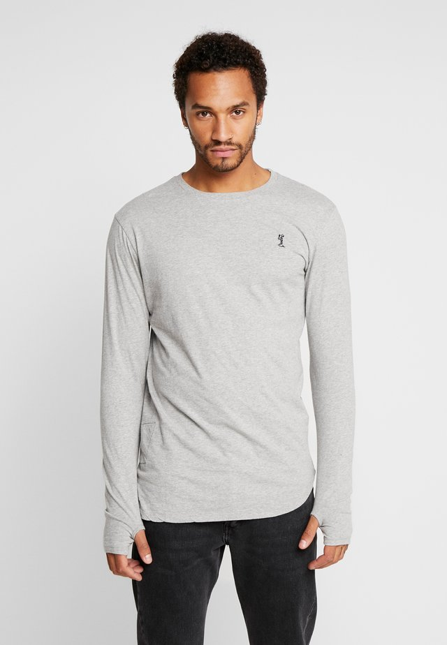 ACE LONGLINE  - Långärmad tröja - grey marl