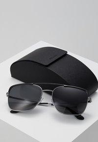 Prada - Solbriller - black/gunmetal/grey - 2