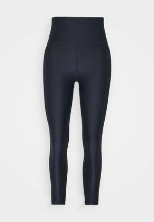 HIGH SHINE 7/8 WORKOUT - Collants - navy blue