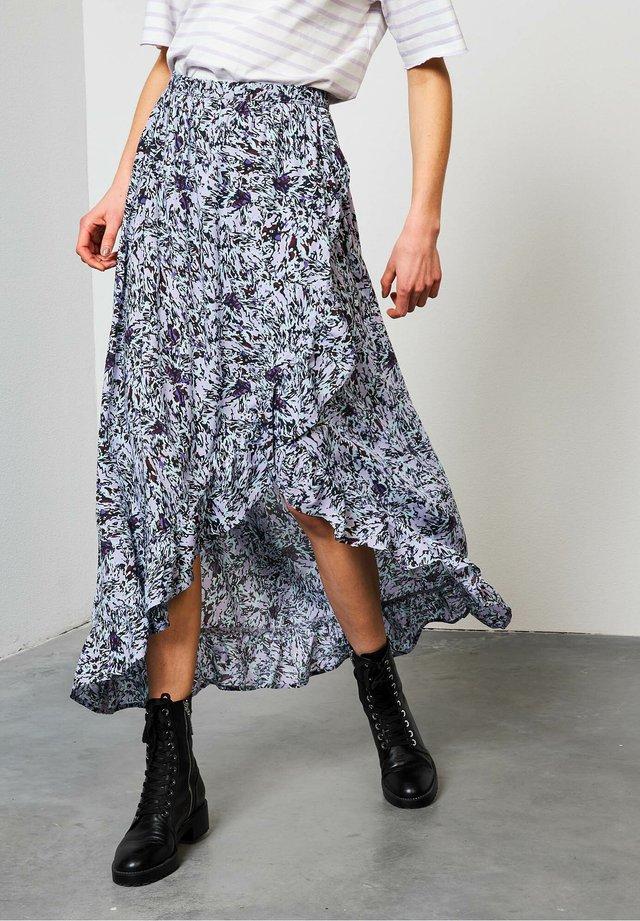 Maxi skirt - pastel lilac