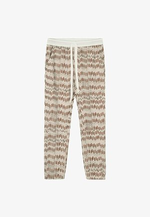 CROPPED SKELETON - Trousers - light safari
