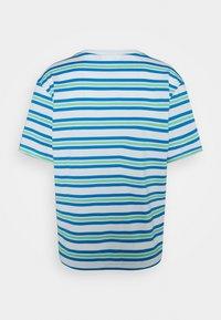 Lacoste - Print T-shirt - flour/ibiza syringa liamone - 1