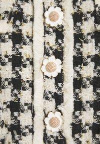 Sister Jane - MARBLE BUD MINI DRESS - Shirt dress - black/white - 2