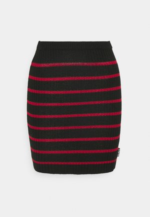 SKIRT - Minigonna - red/black